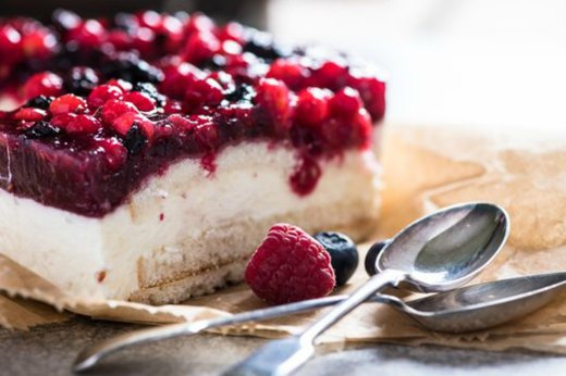 48. West Virginia: Cheesecake