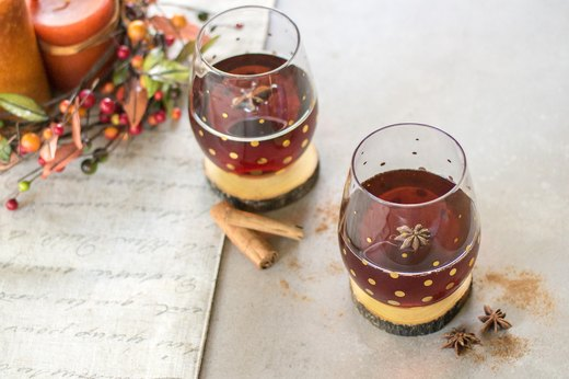 1. Pumpkin Spiced Tea Cocktail