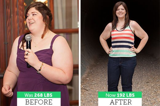 How Lisa P. Lost 76 Pounds