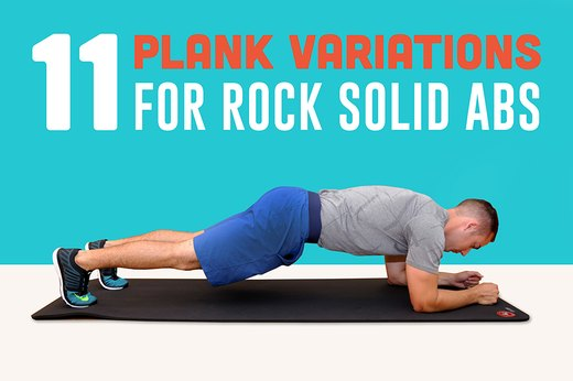 11 plank variations for rock solid abs livestrong com