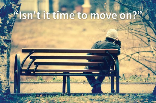 "10. ""Isn't it time to move on?"""
