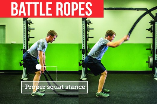 10. Battle Ropes