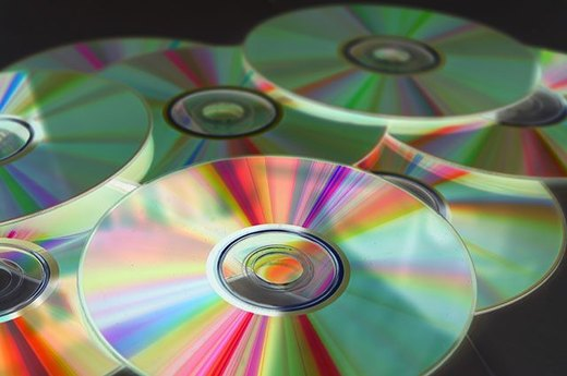 5. Scratched CDs