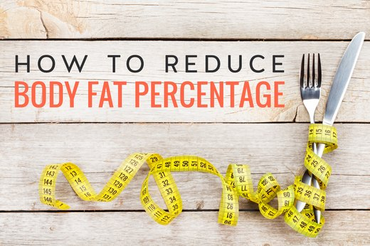 quickest way to lose body fat percentage