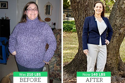 How LoriJean R. Lost 70 Pounds
