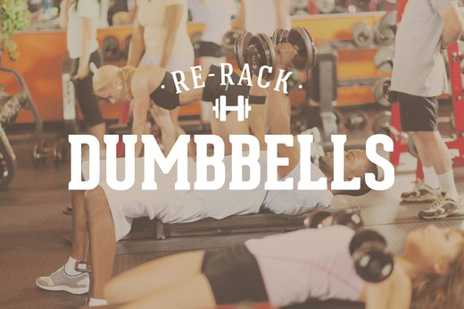 14. Re-Rack Dumbbells