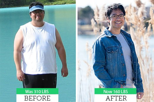 How James T. Lost 150 Pounds