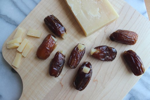 9. Parmesan-Stuffed Dates