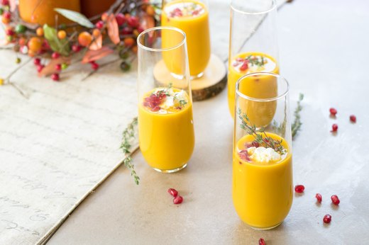 6. Butternut Squash Soup Shooters