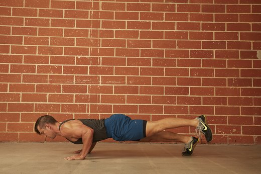 23. Single-Leg Push-Up