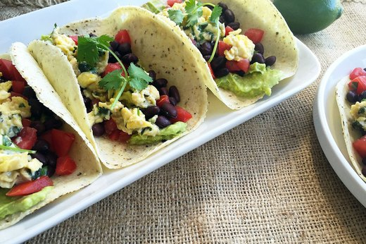 5. All-Day Veggan Soft Tacos