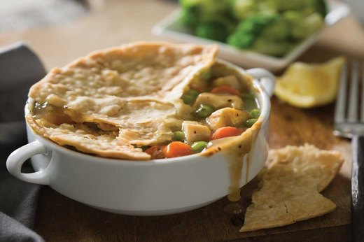 8. Chicken Pot Pie