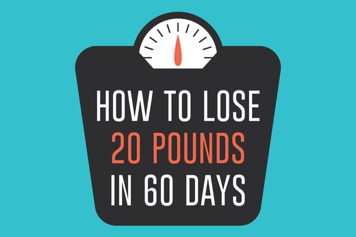 How To Lose 20 Pounds In 60 Days