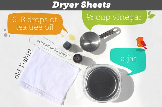 8. Dryer Sheets