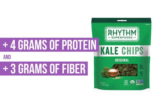 2. Rhythm Superfoods Kale Chips