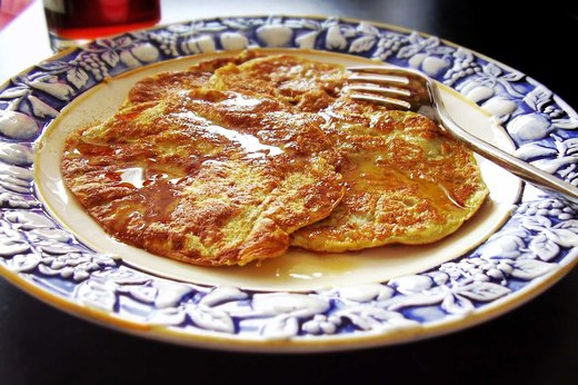 7. Three-Ingredient Pancakes