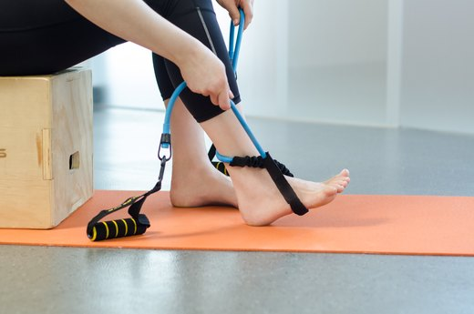 6. Band Ankle Strengthening: How to Do It