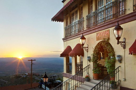 9. Jerome, Arizona: The Asylum Restaurant