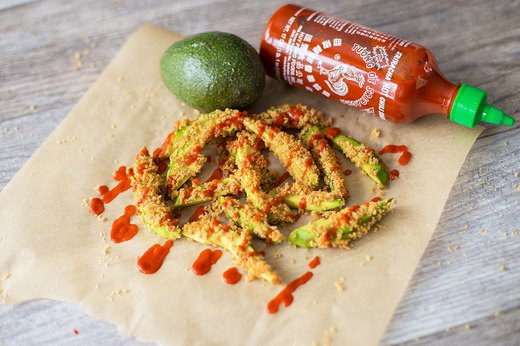 3. Spicy Sriracha Avocado Fries