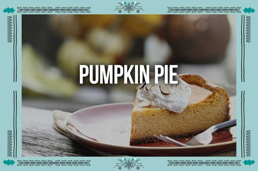 9. Pumpkin Pie