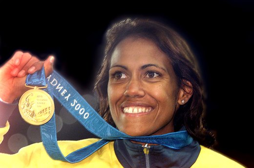 14. Cathy Freeman Wins for Australia's Aborigines (2000 Sydney)