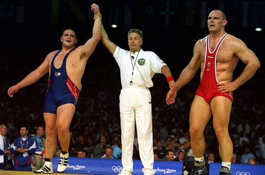 10. Rulon Gardner Defeats the Invincible Russian (2000 Sydney)