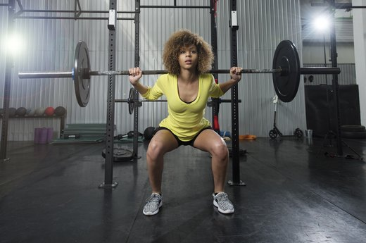 6. Barbell Squat 125 Percent of Your Body Weight