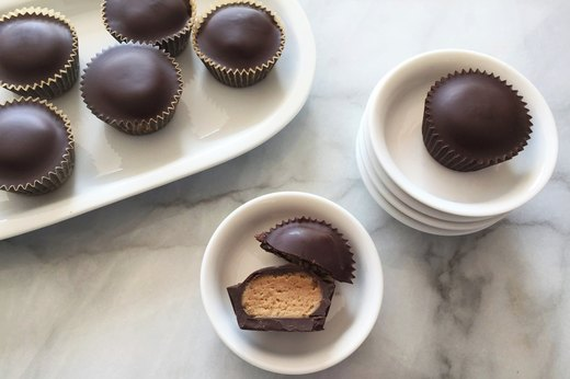 3. Mini Chocolate-Peanut Butter Cups