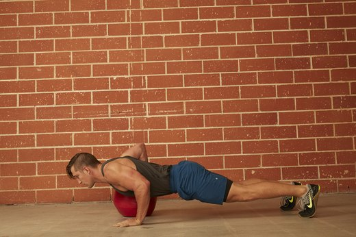 17. Medicine Ball Push-Up