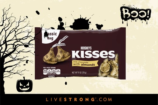 10. Haunted Hershey's Kisses