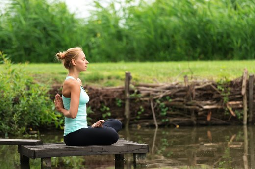1. Yoga Clears Out Mind Clutter