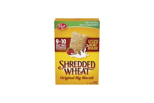 7. Post Shredded Wheat Cereal