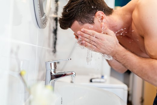 5. Shave With Warm Water