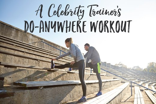A Celebrity Trainer's Do-Anywhere Workout