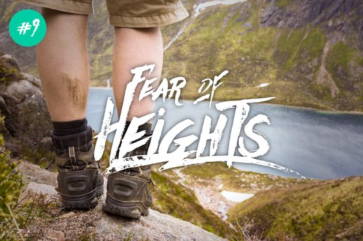9. Fear of Heights