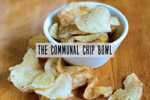 4. Plunging Into the Potato Chip Bowl