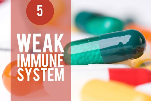5. Stress Weakens Your Immune System