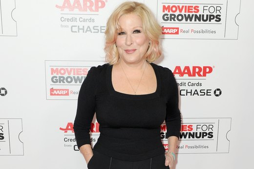 19. Bette Midler, singer, songwriter, actress, comedian and film producer