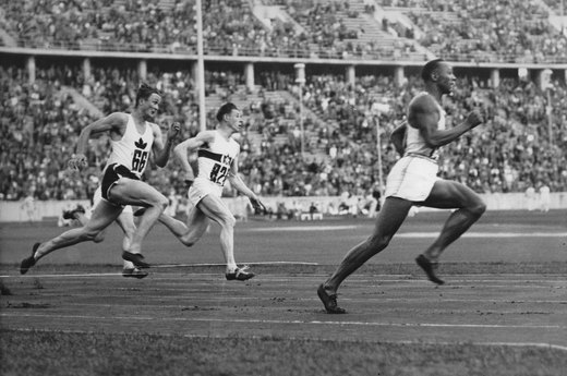 1. Jesse Owens Wins Four Golds at Adolf Hitler's Olympics (1936 Berlin)