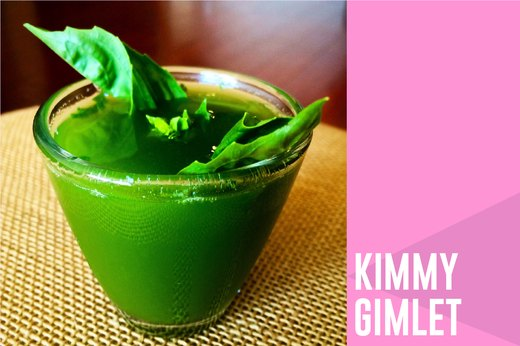 6. Mocktail: Kimmy Gimlet