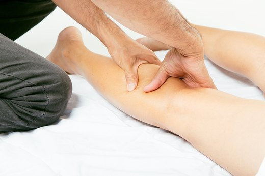 3. Massage the Legs