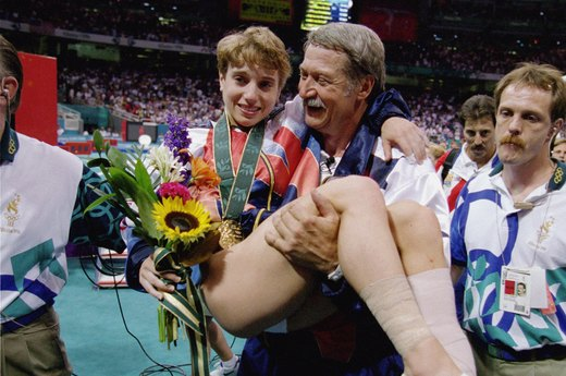 22. Kerri Strug Comes Through for USA Gymnastics (1996 Atlanta)