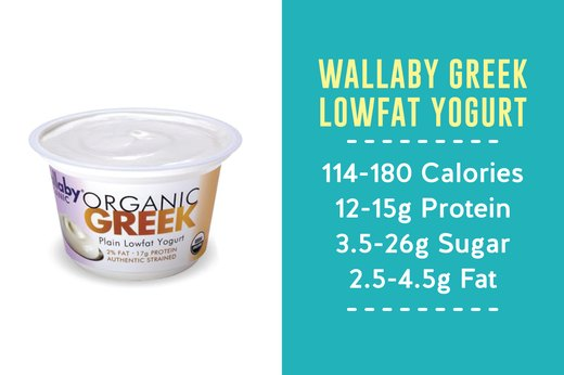 5. BEST: Wallaby Greek Lowfat Yogurt