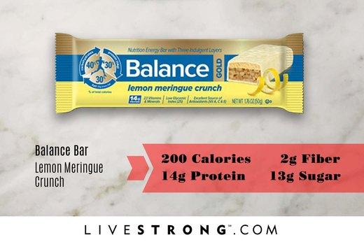 WORST: Balance Bar Lemon Meringue Crunch