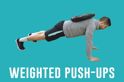 3. Weighted Pushups