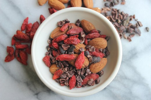 3. Goji Berry, Almond and Cacao Trail Mix