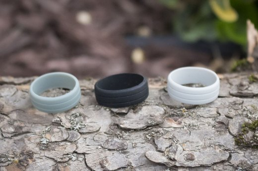 6. Enso Silicone Rings