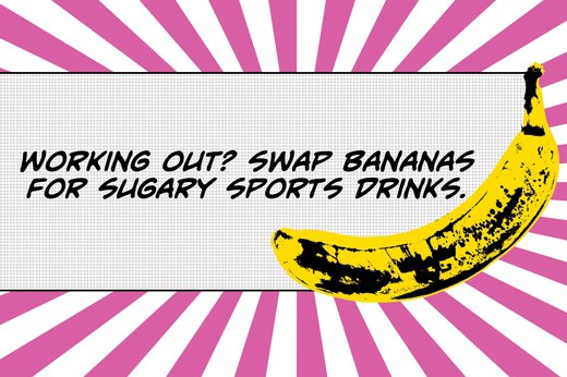 2. Bananas May Improve Your Athletic Performance