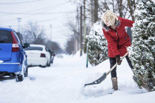 10. Strains and Sprains From Shoveling Snow