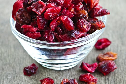 2. Dried Cranberries